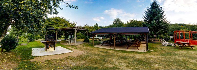 Vu de la terrasse du camping à Lorient Ty Nenez