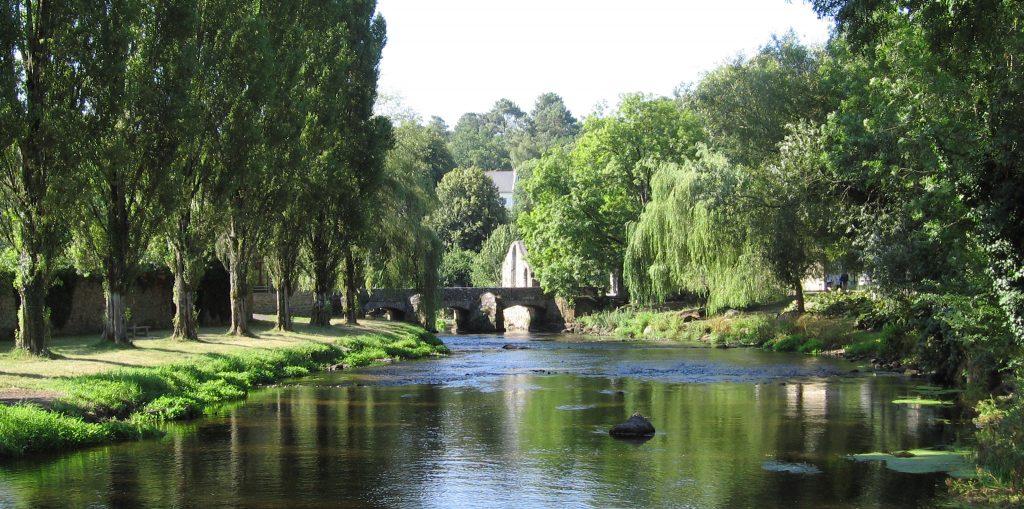 Vu du Pont Scorff, camping à Pont Scorff Ty Nenez