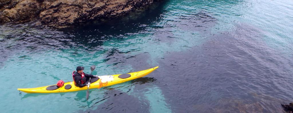 Ty Nenez : kayak en mer