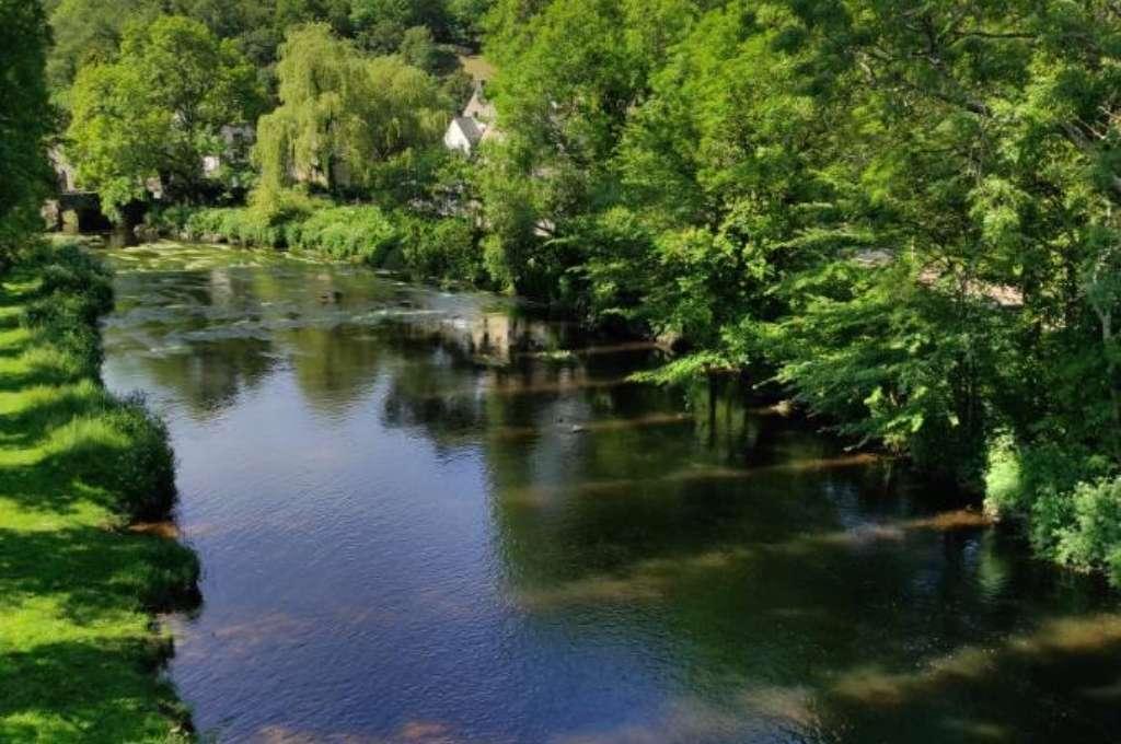 Ty Nenez : Rivière Pont Scorff, Camping Pont Scorff Ty Nenez
