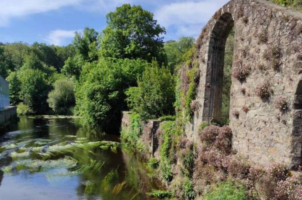 Ty Nenez : Ruines à Pont Scorff, Camping Pont Scorff Ty Nenez