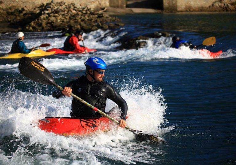 Ty Nenez : kayak en rivière