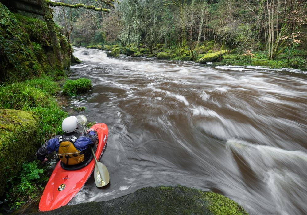 Ty Nenez : kayak en eau Vive